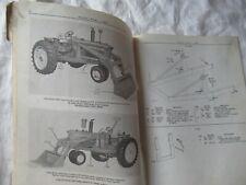 1969 John Deere 46a Farm Loader Parts Catalog Manual Book