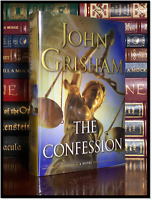 The Confession ✍SIGNED✍ by JOHN GRISHAM New Hardback 1st Edition First Printing
