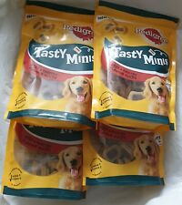 set 1+ 4 bags dog treats,pedigree,new