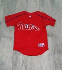 New listing Philadelphia Phillies Ryan Howard #6 Stitched Jersey sz Youth Small Red -PMJS