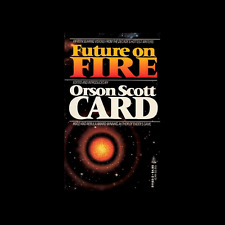 Future On Fire short stories  by Orson Scott Card paperback book FREE SHIPPING
