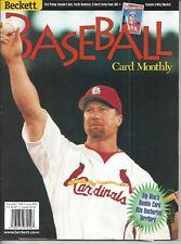 Mark McGwire Cover Nov, 1998 Beckett ML Baseball Price Guide  Ripken Bk Cover