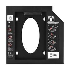 """2,5 """"SATA HDD SSD Gehäuse Festplattenlaufwerk Caddy Adapter für Laptop 12.7mm"""