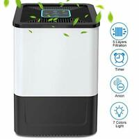 Nobebird Air Purifier with True HEPA Filter, Quiet Air Cleaner with 5 Layers