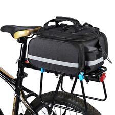 27L Fahrradtaschen Gepäckträger Wasserdicht Sitz Tasche MTB Rennrad Rack Carrier