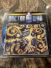 "BBC Doctor Who 1000 Piece Jigsaw Puzzle Exploding Tardis Van Gogh 26"" x 19"""