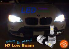 BMW X5 E70 2007-2013 Canbus LED Headlight 2x Bulbs H7 Low Beam 72W 6500K White