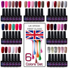 Blue Velvet Gel Lab 10ml 6 Colors GEL Polish Manicure Lacquer Need Top Base Coat