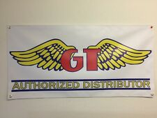 old school BMX BIKE BANNER GT WINGS  4FT X 2FT  mancave garage shop