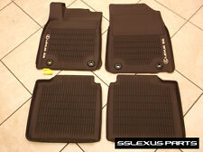 "Lexus ES350 ES300H (2016-2018) OEM ALL WEATHER FLOOR ""LINER"" MATS 4pc (Brown)"