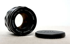 PENTAX SUPER TAKUMAR 55mm 1.8 Prime Lens for M42 fit with caps