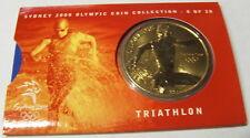 Australia 2000 $5 Olympic Sports Coin - Triathlon