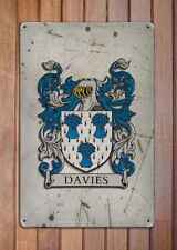 Galvan Coat of Arms A4 Aged Retro 10x8 Metal Sign Aluminium Heraldry