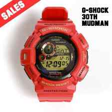 G-SHOCK BRAND NEW WITH TAG G-SHOCK G-9330A-4 30TH RED COLOR LIMITED MUDMAN WATCH