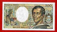 (BNF 181 ) 200 FRANCS MONTESQUIEU 1989 N° Y 063 NEUF
