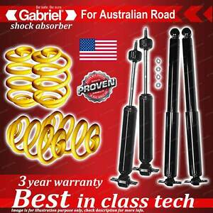 4 x lowered Gabriel Shock + Coil Spring for Chevrolet BEL-Air All models 58-63