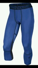 100% Authentic Nike Men's Hypercool 3/4 Compression Tights Pant (636161-480) $50