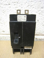 Challenger CH2100 100-Amp 2-Pole 100A 2P 277/480V Bolt-On Circuit Breaker Used