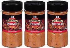 McCormick Grill Mates Applewood Smoked Salt Seasoning  Dry Rub Pork BBQ Ribs Rib