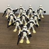 10 Playskool Star Wars Galactic Heroes Jedi Force Tatooine Sand Trooper Figure H