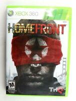 Homefront (Microsoft Xbox 360, 2011) Complete Tested