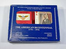 American Historical Playing Card Deck and Book  -  Bicentennial edition