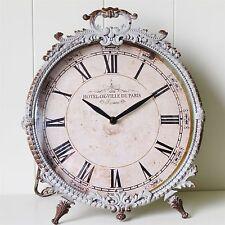 Mantel Clock Grey Vintage Style