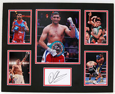 Amir KHAN Signed MOUNTED Autograph Photo DISPLAY AFTAL COA World Champion Boxer