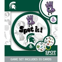 NCAA Michigan State Spartans Spot It Game