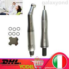 DENTISTA basso velocità contrangolo & manipolo dritto aria motore angolar 4 Hole