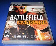 Battlefield Hardline Sony PlayStation 3 *Factory Sealed! *Free Shipping!