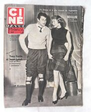 CINE-REVUE 4 janvier 1952 TONY CURTIS JANET LEIGH SUSAN HAYWARD BOURVIL MARAIS