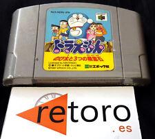 DORAEMON NOBITA 3 NINTENDO 64 N64 Cartucho Japones Funcionando EPOCH CO