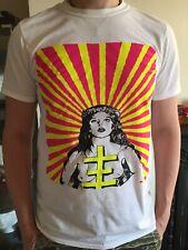 Psychic TV Teeshirt With Psychick Cross Size Medium