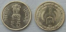 "Indien / India 5 Rupees 2015 ""Indisch-Pakistanischer Krieg 1965"" unz."