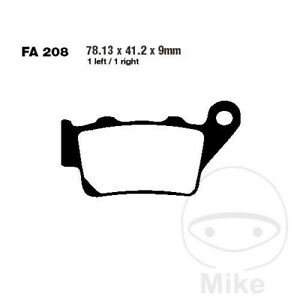 EBC R ATV & Dirt Rear Brake Pads FA208R Husaberg FE 600 E Enduro 1995-2000