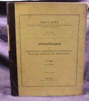 Fritsch Nova Acta Abhandlungen der Naturforscher 1905 84. Band Leopoldina js