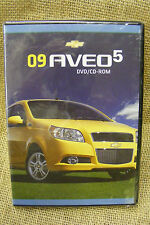 2009 CHEVROLET AVEO5 DVD CD ROM GM PRODUCT TRAINING LIBRARY NIB
