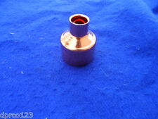 """2"""" x 1"""" Copper Reducer Coupling *Plumbing* (FITS OVER 2-1/8"""" x 1-1/8"""" OD PIPES)"""