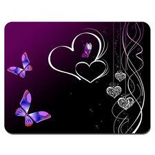 Soft Mouse Pad Neoprene Laptop PC MousePad Butterfly Heart