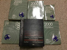 2000 Ford Mustang Gt Cobra Mach Service Shop Manual SET W EWD & PCED 6 BOOK SET
