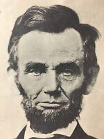 """Jumbo"" Vintage Abraham Lincoln Postcard"