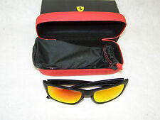 Oakley Ferrari Sliver 926212 Men's Sunglasses Matte Black Ruby Iridium Box, Case