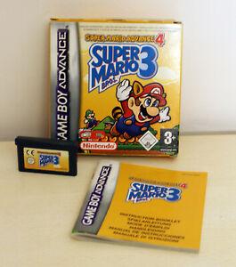 Nintendo Game Boy  Advance 4 Super Mario Bros 3 !!
