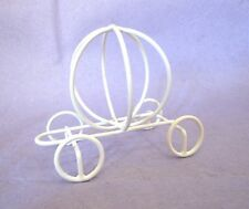 10 Cinderella Pumpkin Carriage Wire Centerpieces! 3""