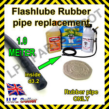 Rubber pipe 3.2mm for LPG Flash Lube V-lube JLM lube lubrication kits PIPE ONLY