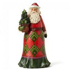 Jim Shore Evergreen Christmas Santa Figurine ~ Rooted In Tradition ~ 4053706