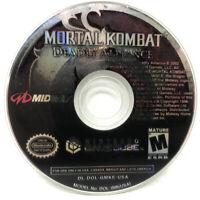 Mortal Kombat: Deadly Alliance (Nintendo GameCube, 2002) Disc Only