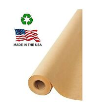 Made in Usa Brown Kraft Paper Jumbo Roll 17.75� x 1200� (100ft) Ideal for Gif.