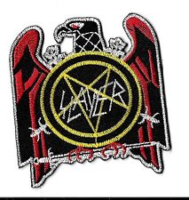 New Slayer ' Red Eagle' 3 X 2 3/4   Inch Iron on Patch Free Shipping